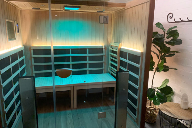 Yoga sauna