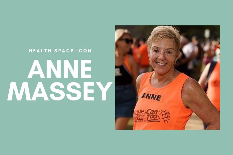Anne Massey, chiropractic and massage client at Health Space Kings Cross