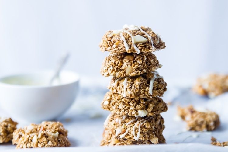 Easy Healthy Muesli Cookies