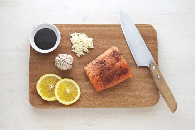 BBQ Salmon Bites